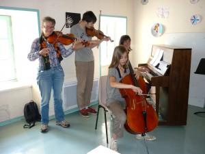 Cours de musique de chambre dans le Haut-Lignon