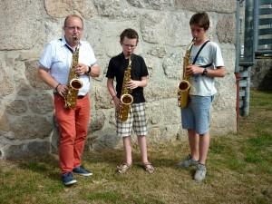 Cours de saxo