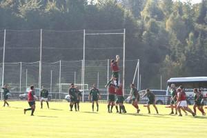 Entrainement de l'équipe de rugby du Portugal