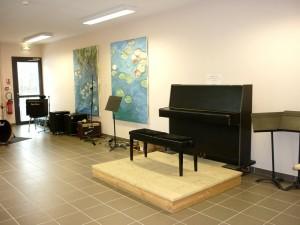 Salle de musique de la maison des Bretchs