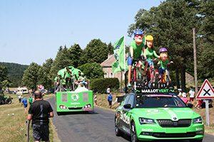 Caravane-velos-maillot-vert-TDF-2017