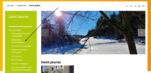 Nouvelle rubrique Saint-Jeures